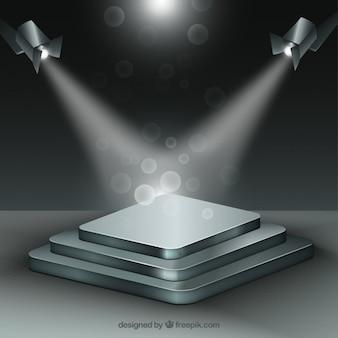 Presentazione aziendale sfondo con effetti di bolla