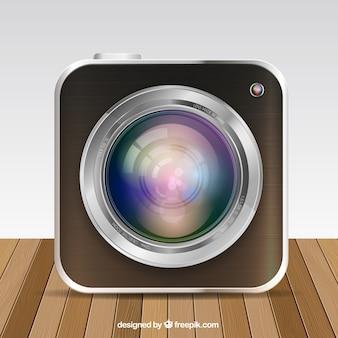 Pulsante Fotocamera app