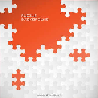 Puzzle template background