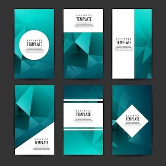 raccolta brochure blu