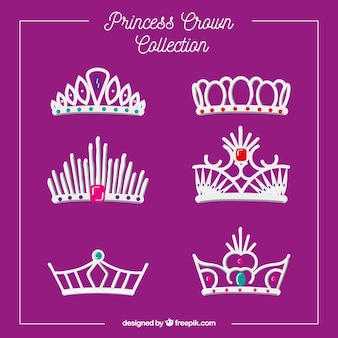 Raccolta di corone principessa