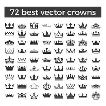 Raccolta di icone della corona