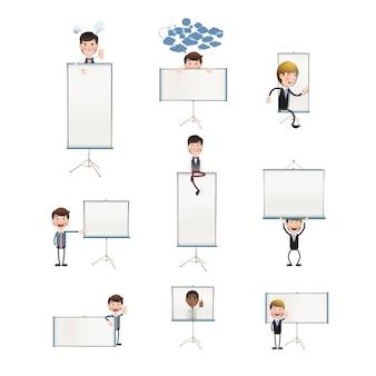 Raccolta di personaggi di presentazione