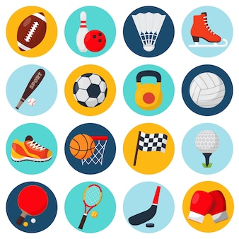 Raccolta icone dello sport