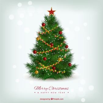 Realistico albero di Natale
