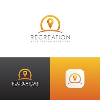 Ricreazione App Lowpoly Logo
