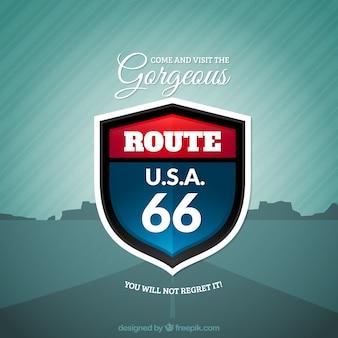 Route 66 segno
