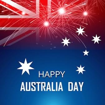 Scheda felice di Australia Day