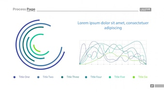 Schema di diapositive e grafici a rulli