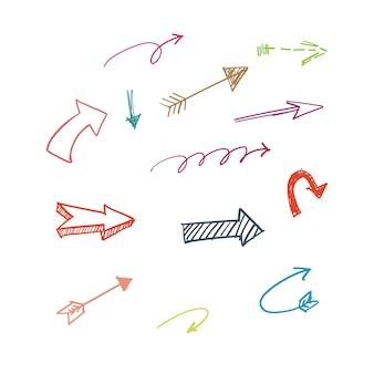 Set di frecce a mano