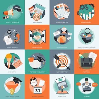 Set di icone per il web