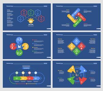 Set di modelli di diapositive di workflow