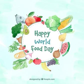 Sfondo alimentare sano