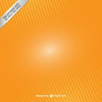 Sfondo arancione in stile astratto