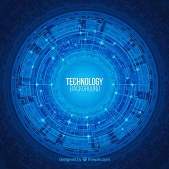 Sfondo astratto tecnologia