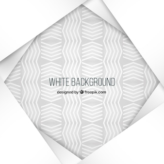 Sfondo bianco con linee a zig-zag