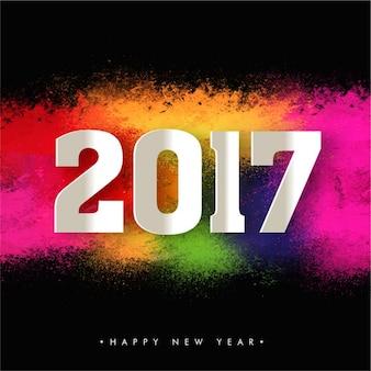 Sfondo colorato per il nuovo anno celebrazione