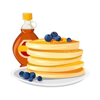 Sfondo deliziosi pancake