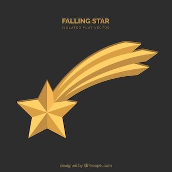 Sfondo della stella cadente