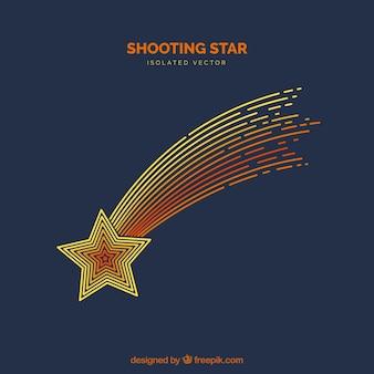 Sfondo della stella di tiro
