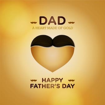 Sfondo di giorno dei padri