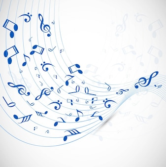 Sfondo di musica moderna