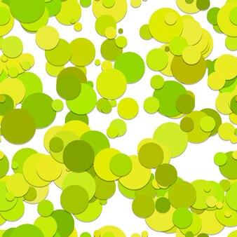 Sfondo di pattern di cerchi verde