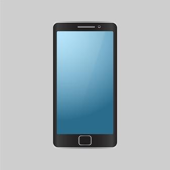 Sfondo di telefono cellulare isolato