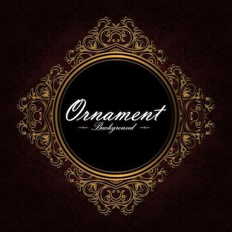 Sfondo diamante ornamentale