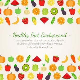 Sfondo Dieta sana