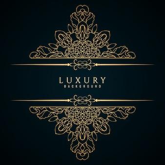 Sfondo elegante di lusso astratto
