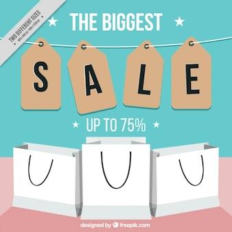 Sfondo grandi vendite