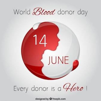 sfondo Mondiale della giornata del donatore