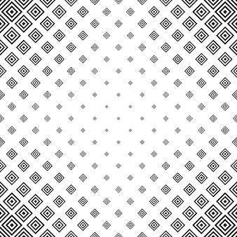 Sfondo nero e bianco del rombo