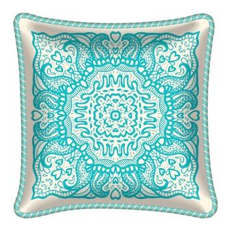 Sfondo ornamento cuscino
