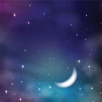 Sfondo stellato del cielo