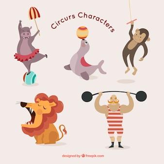 Simpatici personaggi del circo pacco