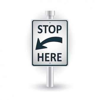 Smettere di progettazione del segnale