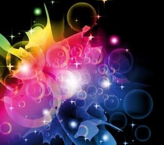 sogno a colori grafica vettoriale