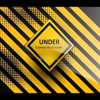 Sotto sfondo di costruzione