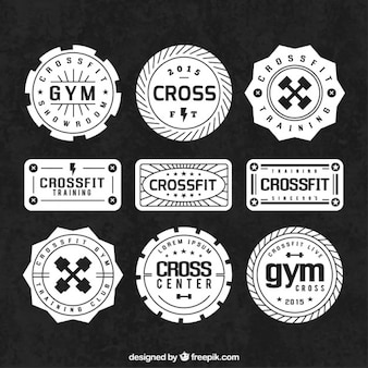 Sport badges Retro