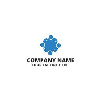 Squadra sociale Logo Template