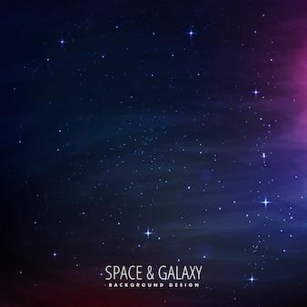 stelle riempito lo spazio di sfondo