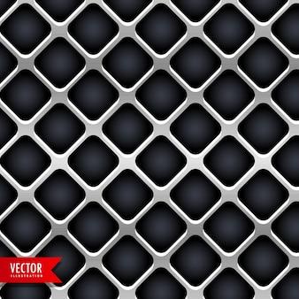 Struttura di metallo sfondo vettoriale di progettazione