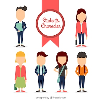 Studente Character Collection