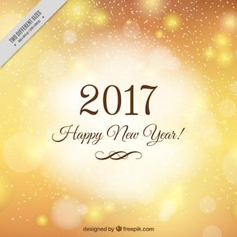 Sullo sfondo d'oro per il nuovo anno