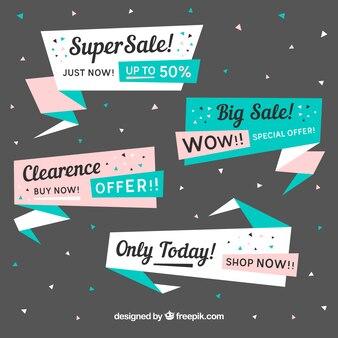 Super vendita banner di raccolta