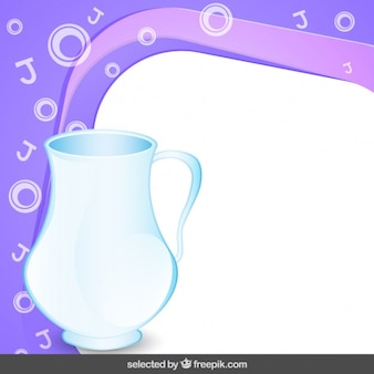 Telaio con vaso