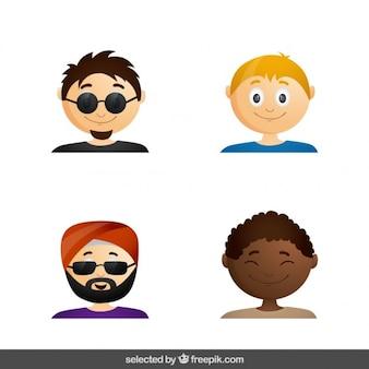 Uomini avatar collezione