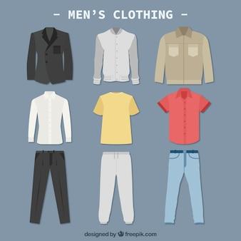Uomini vestiti colletction